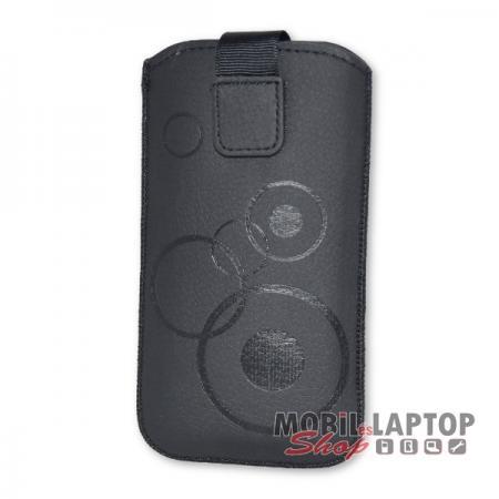 Univerzális tok kihúzható Apple iPhone 5 / Samsung I9190 / I9192 / I9195 méret fekete