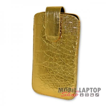 Univerzális tok kihúzható M méret arany