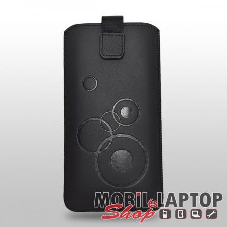 Univerzális tok kihúzható Samsung N950 / N960 Galaxy Note 8 / Note 9 méret fekete