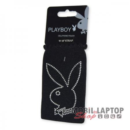 Univerzális tok Playboy fekete zokni