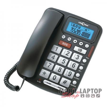 Vezetékes telefon ConCorde 5030 időseknek fekete